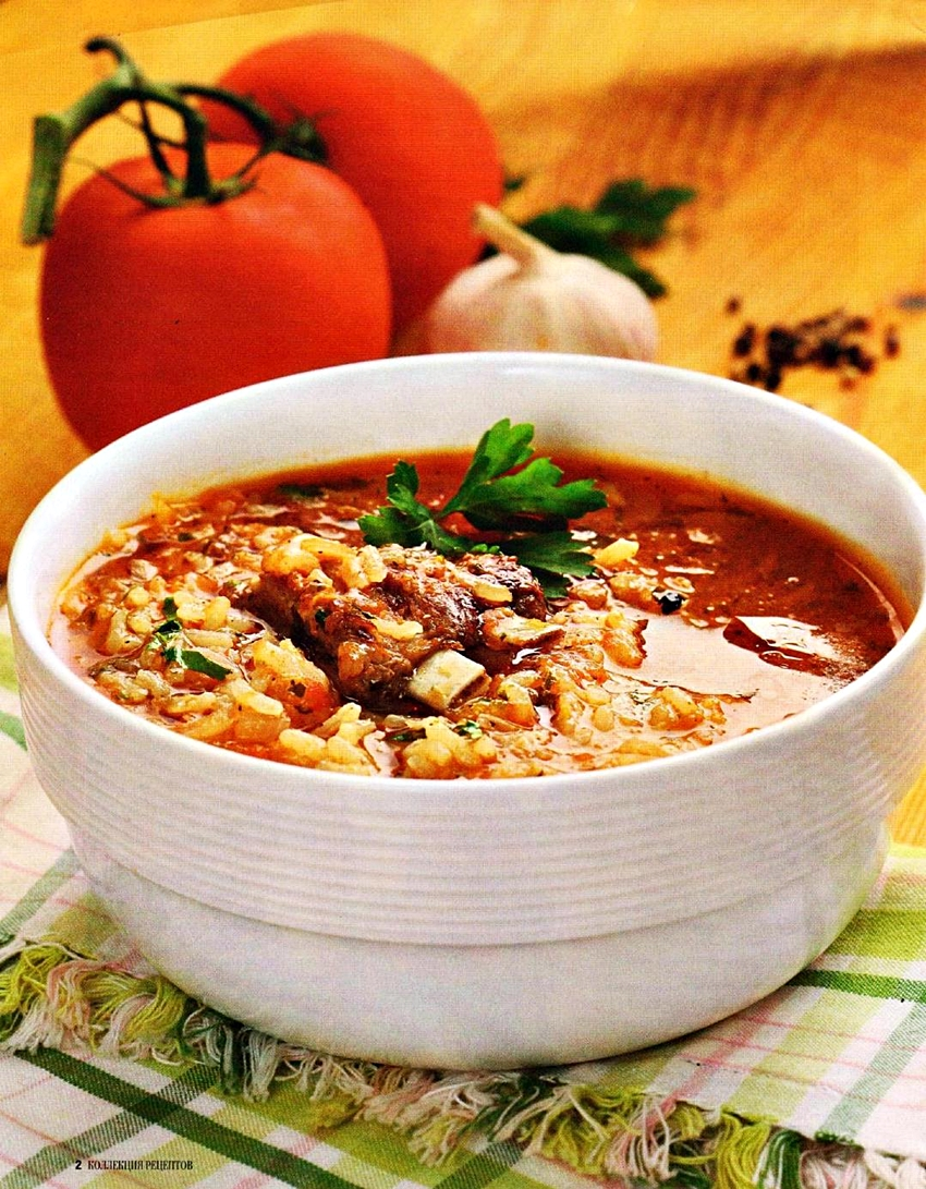 Рецепт супа харчо из ребрышек